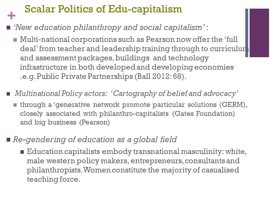 Scalar Politics of Edu-capitalism