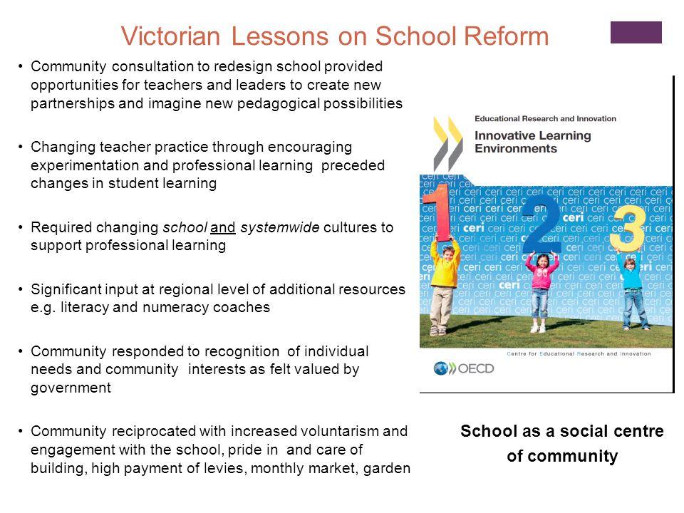 School as a social centre