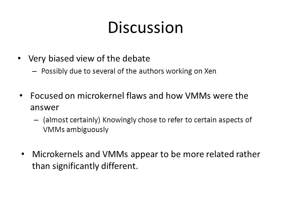Discussion Very biased view of the debate