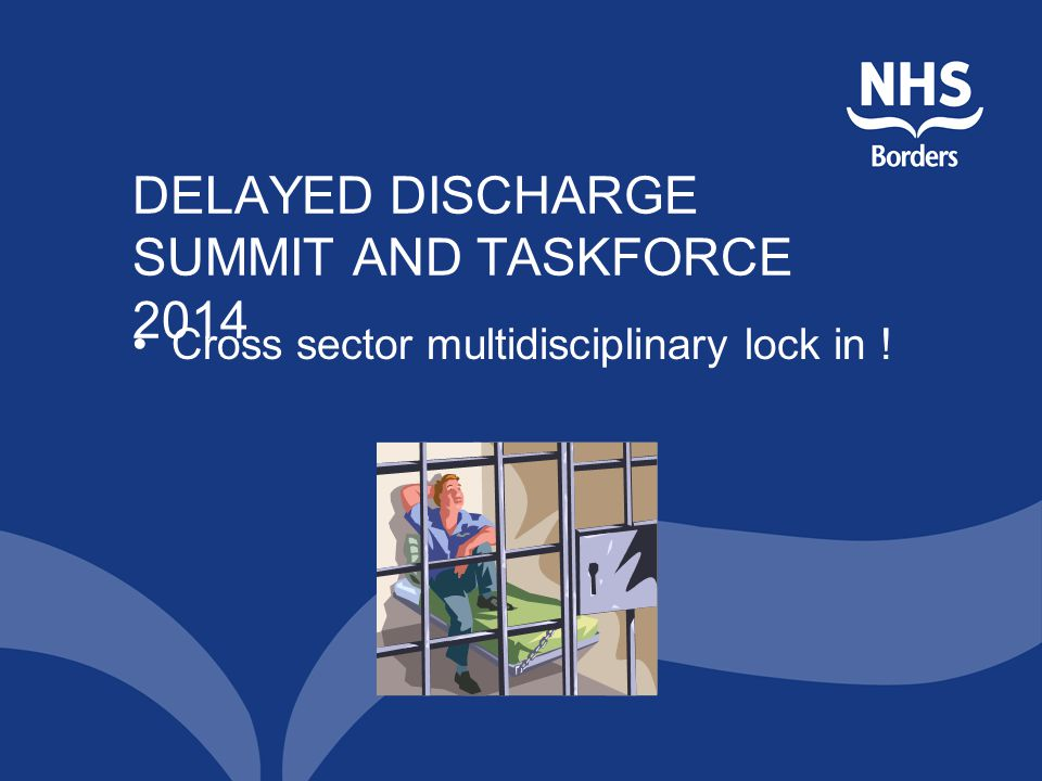 DELAYED DISCHARGE SUMMIT AND TASKFORCE 2014