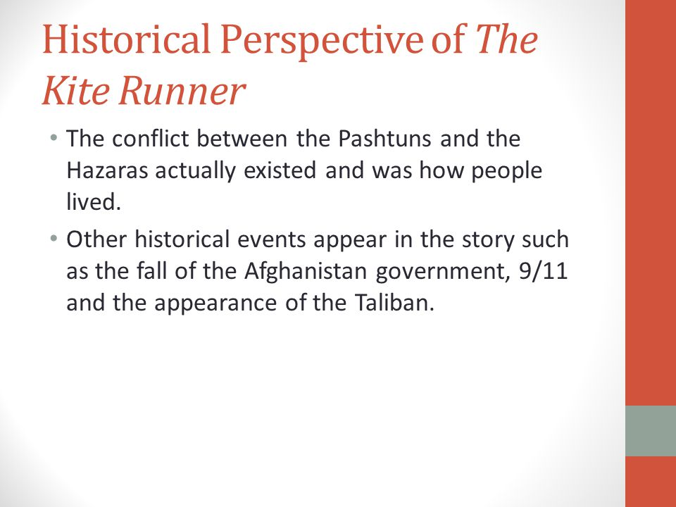Historical Perspective of The Kite Runner