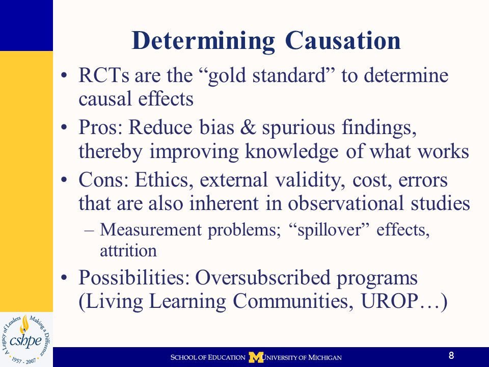 Determining Causation
