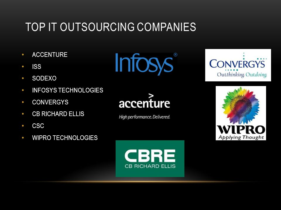 Top IT outsourcing companies