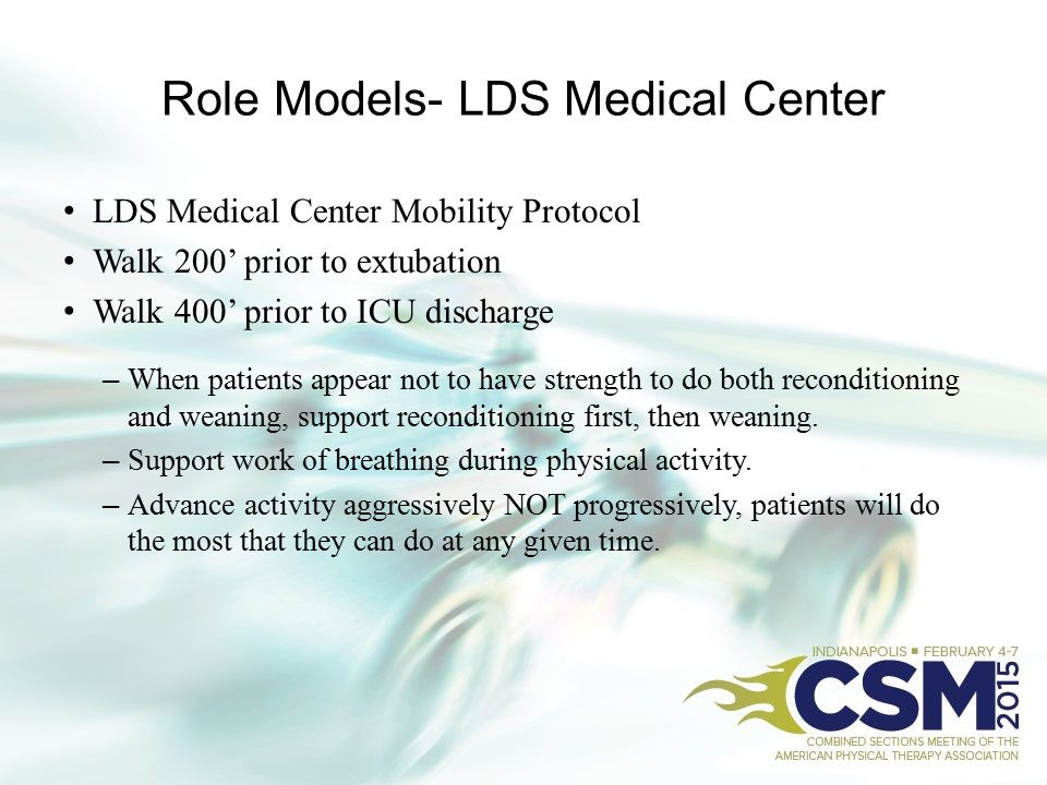 Role Models- LDS Medical Center