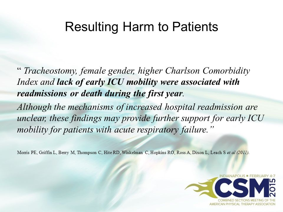 Resulting Harm to Patients