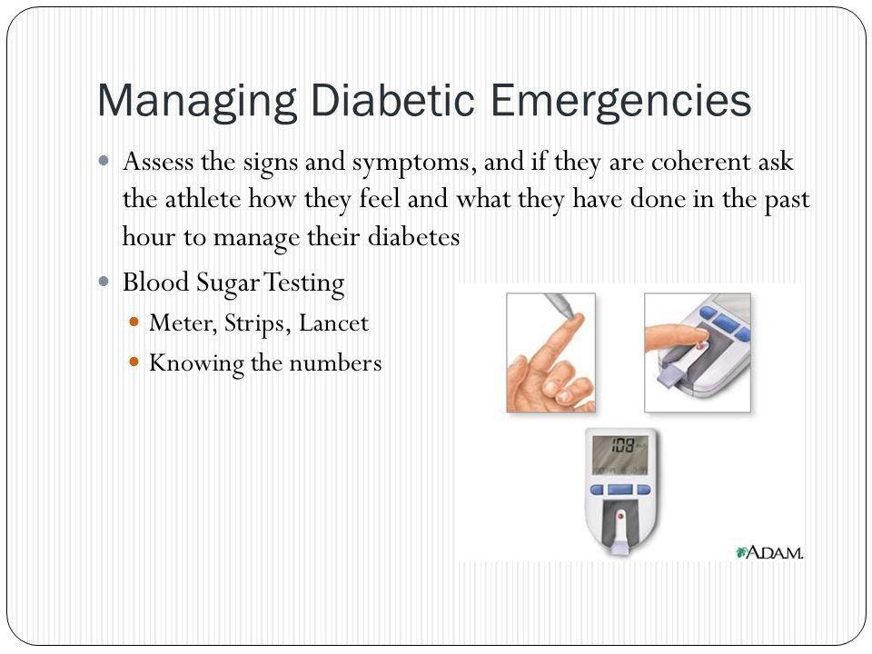 Managing Diabetic Emergencies