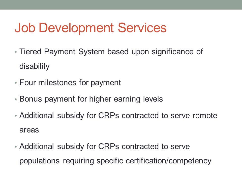 Job Development Services