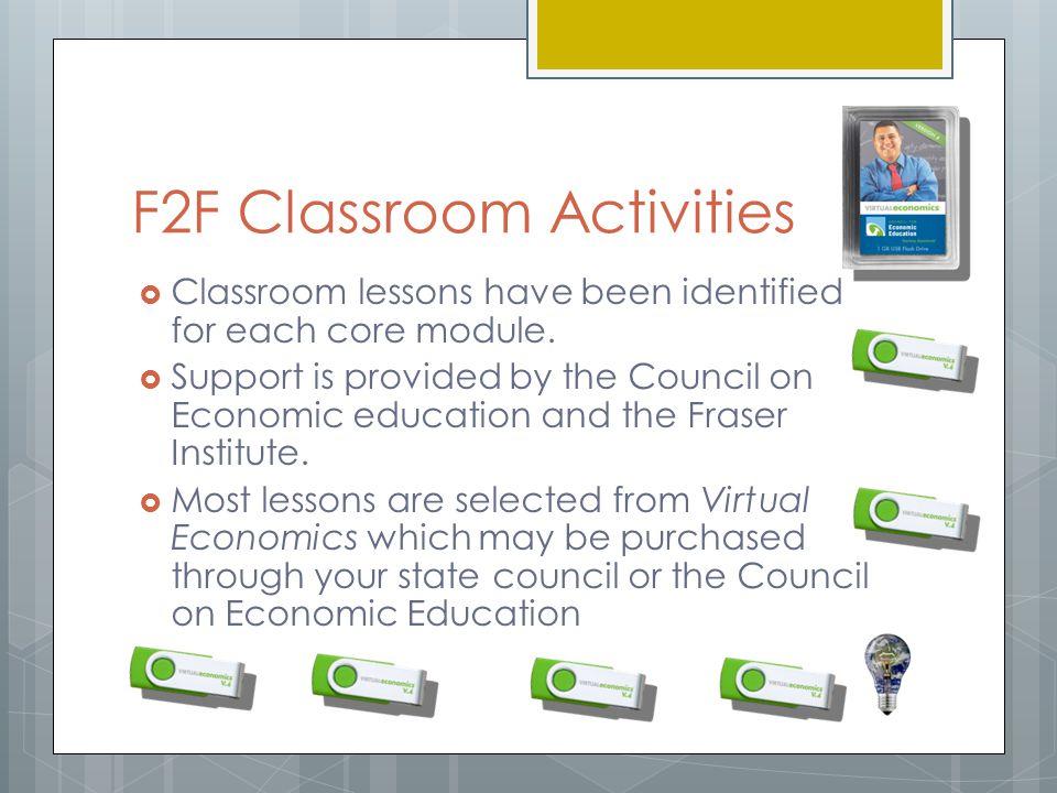 F2F Classroom Activities