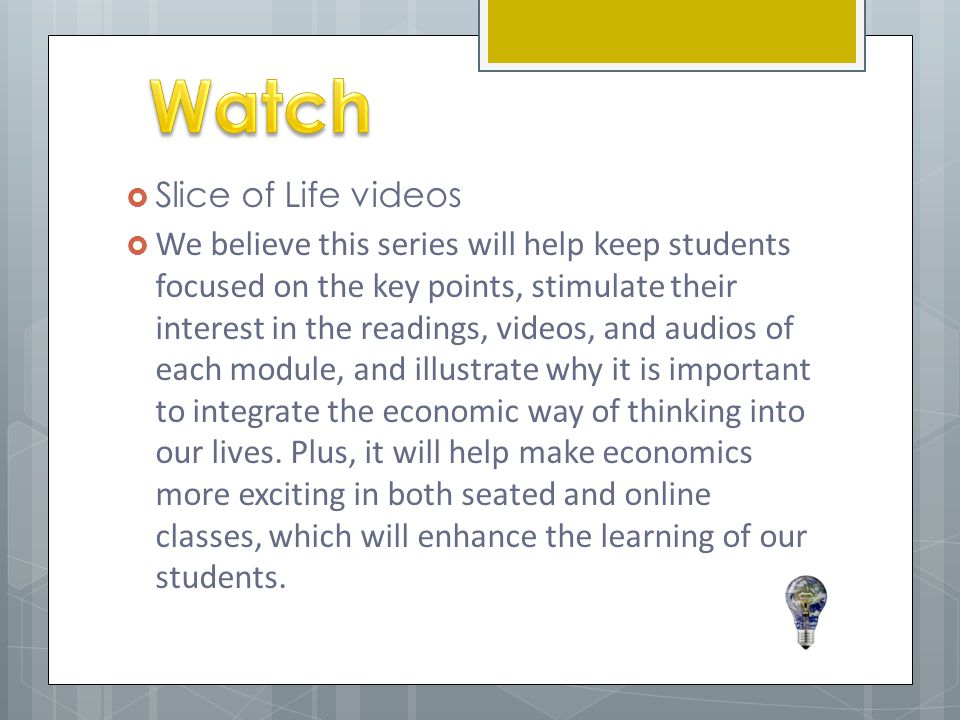 Watch Slice of Life videos