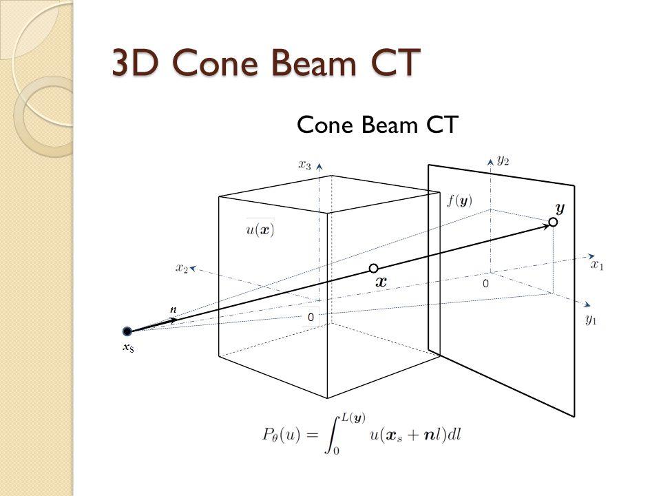 3D Cone Beam CT Cone Beam CT