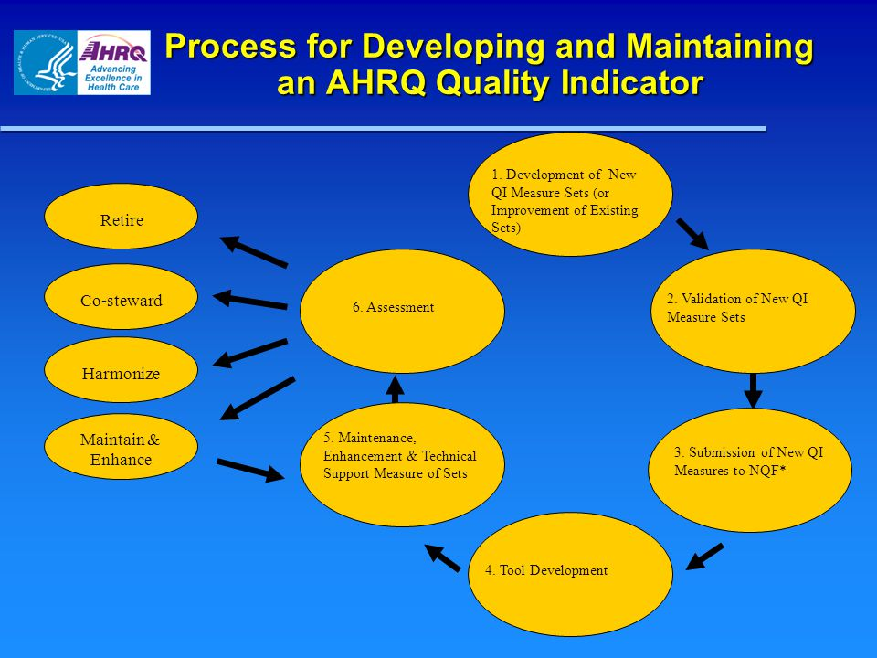 Process for Developing and Maintaining an AHRQ Quality Indicator
