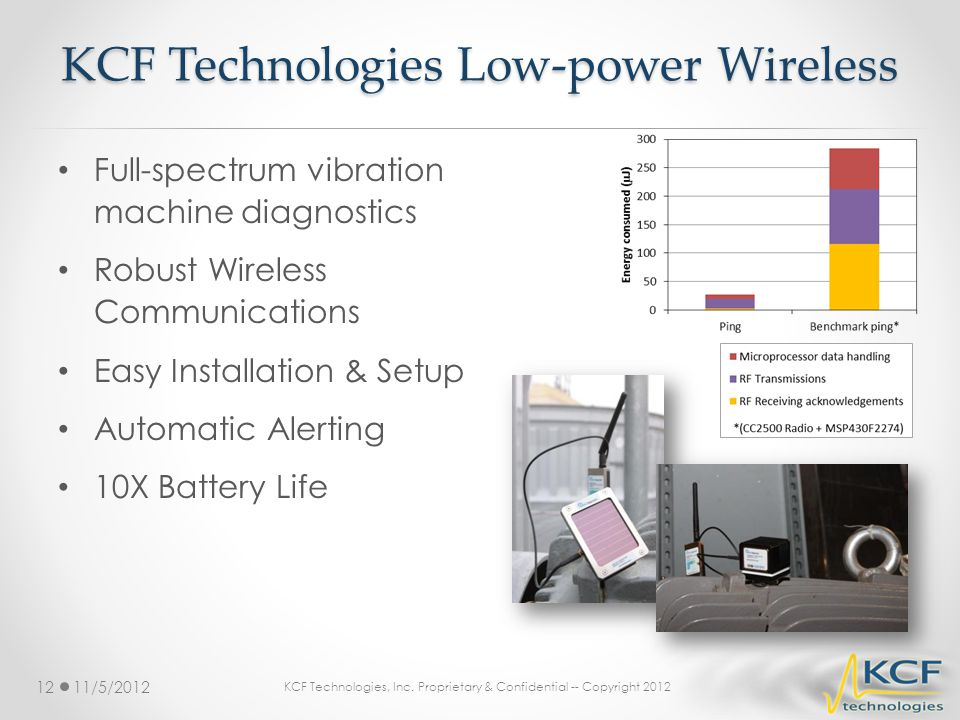 KCF Technologies Low-power Wireless