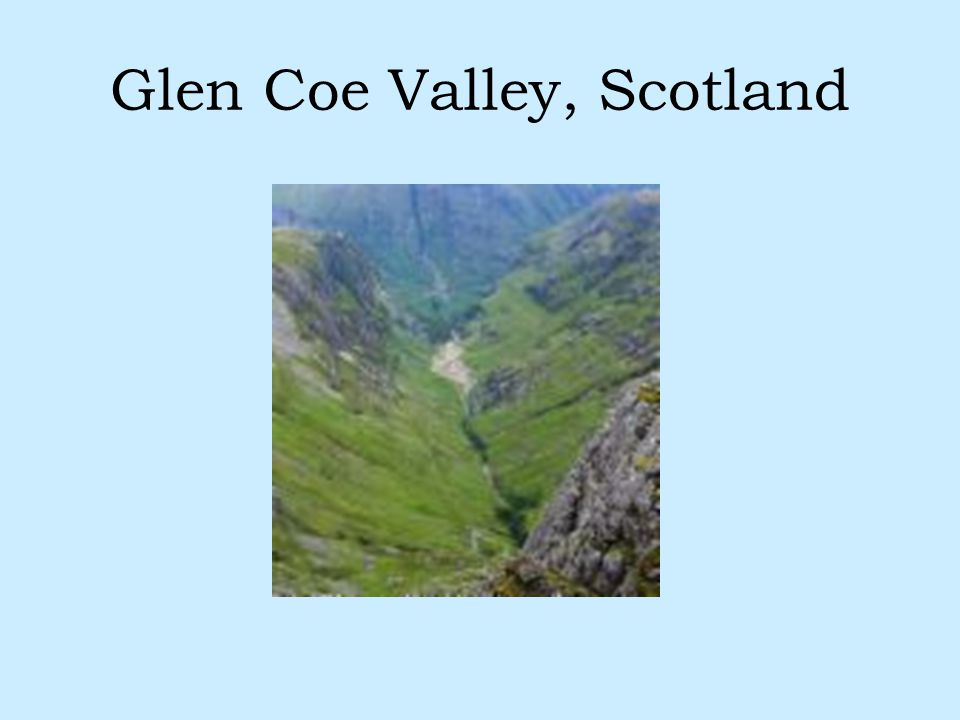 Glen Coe Valley, Scotland