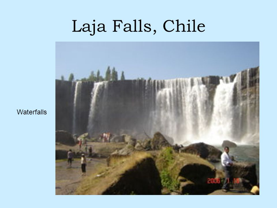 Laja Falls, Chile Waterfalls