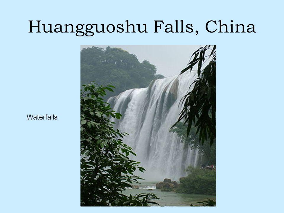 Huangguoshu Falls, China