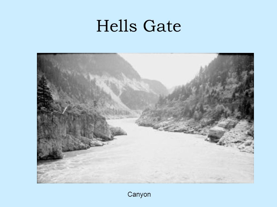 Hells Gate Canyon