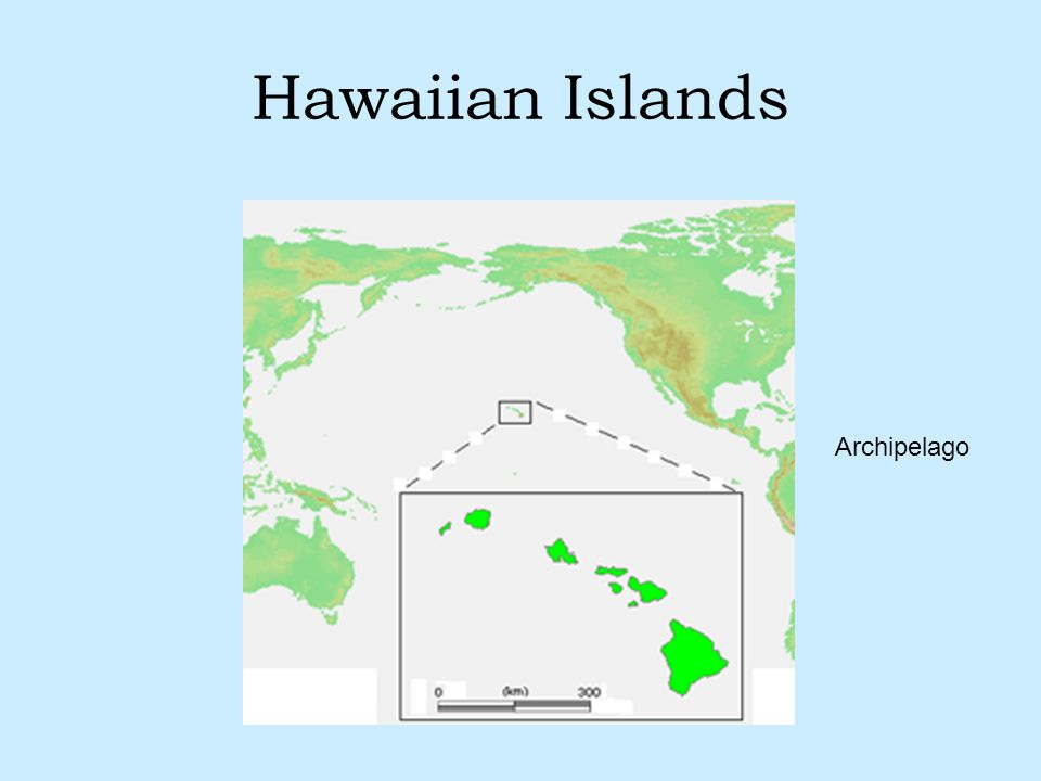 Hawaiian Islands Archipelago