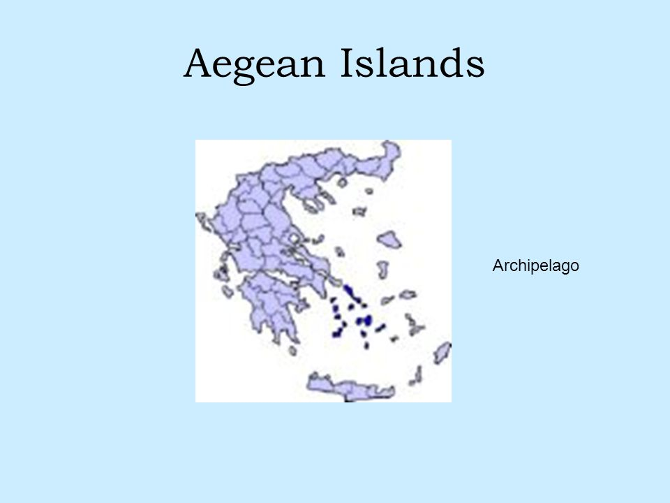 Aegean Islands Archipelago