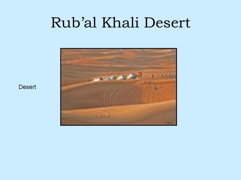 Rub'al Khali Desert Desert