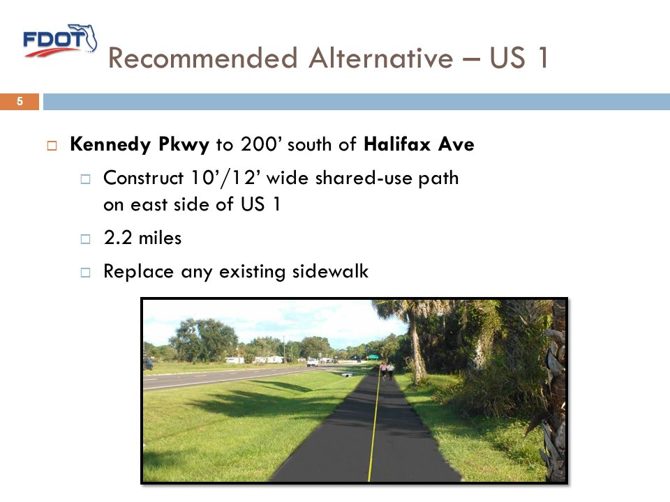 Recommended Alternative – US 1