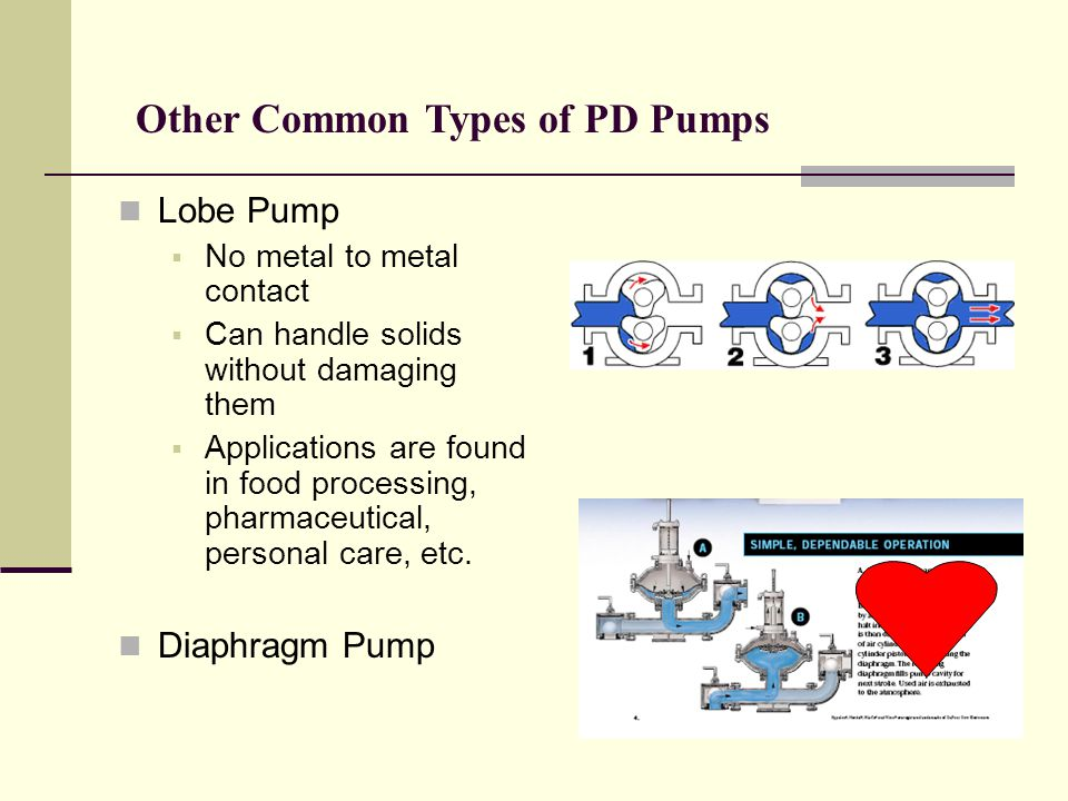 Other Common Types of PD Pumps