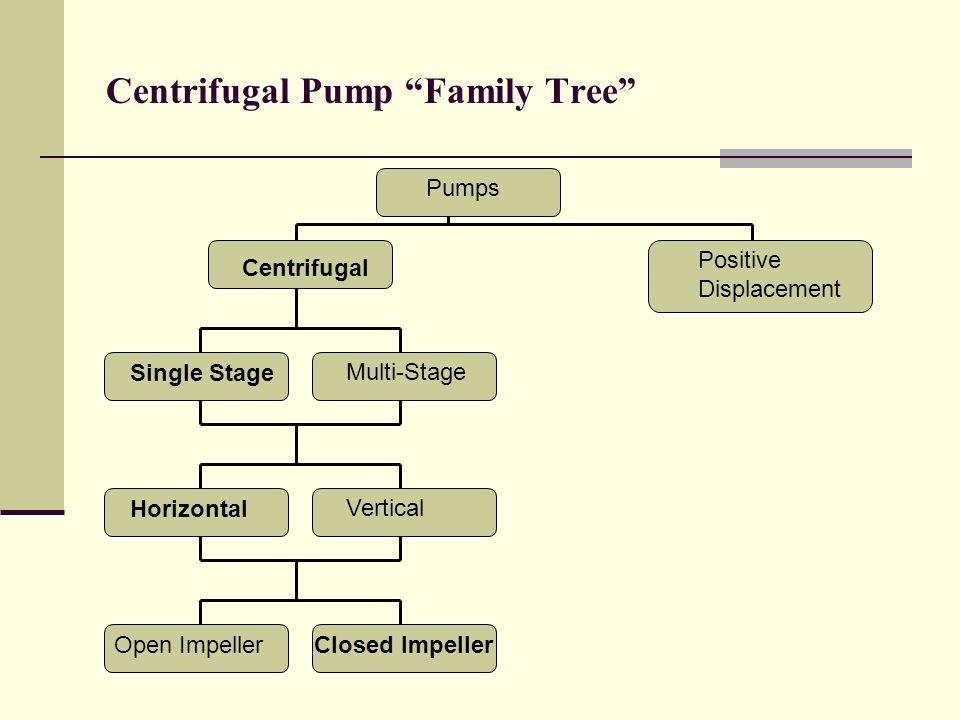 Centrifugal Pump Family Tree