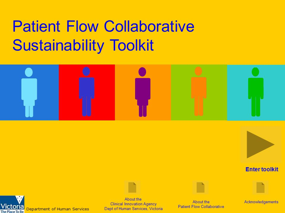 Enter toolkit About the Clinical Innovation Agency