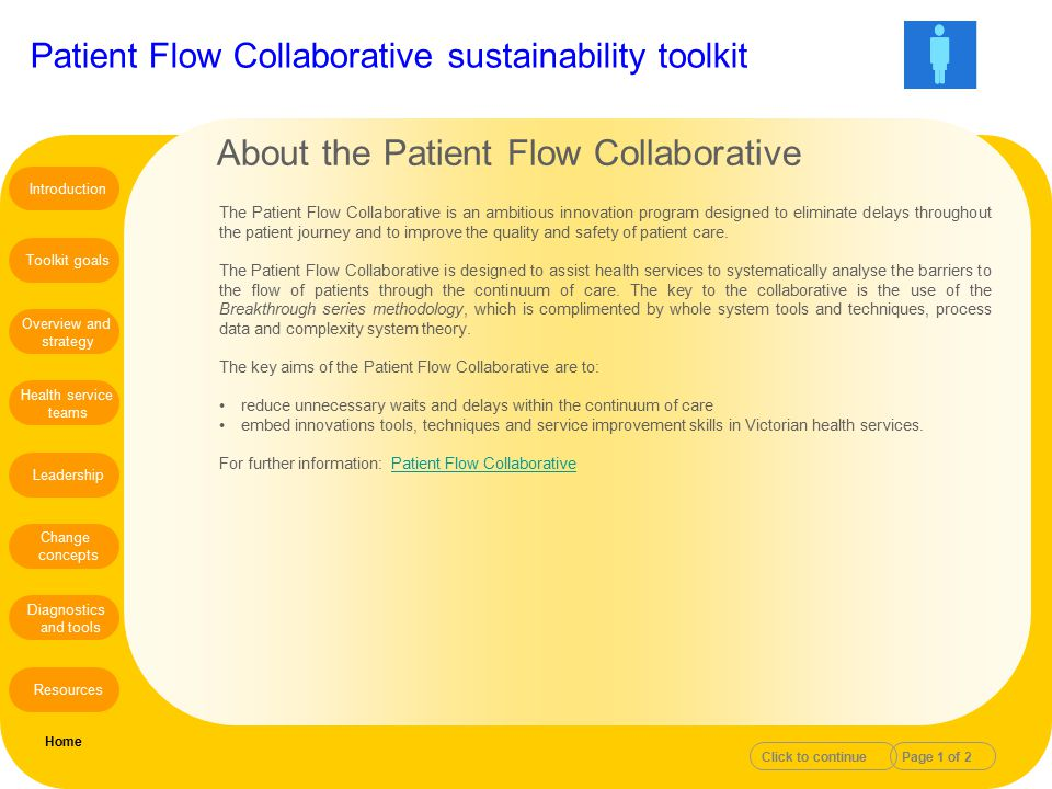 About the Patient Flow Collaborative