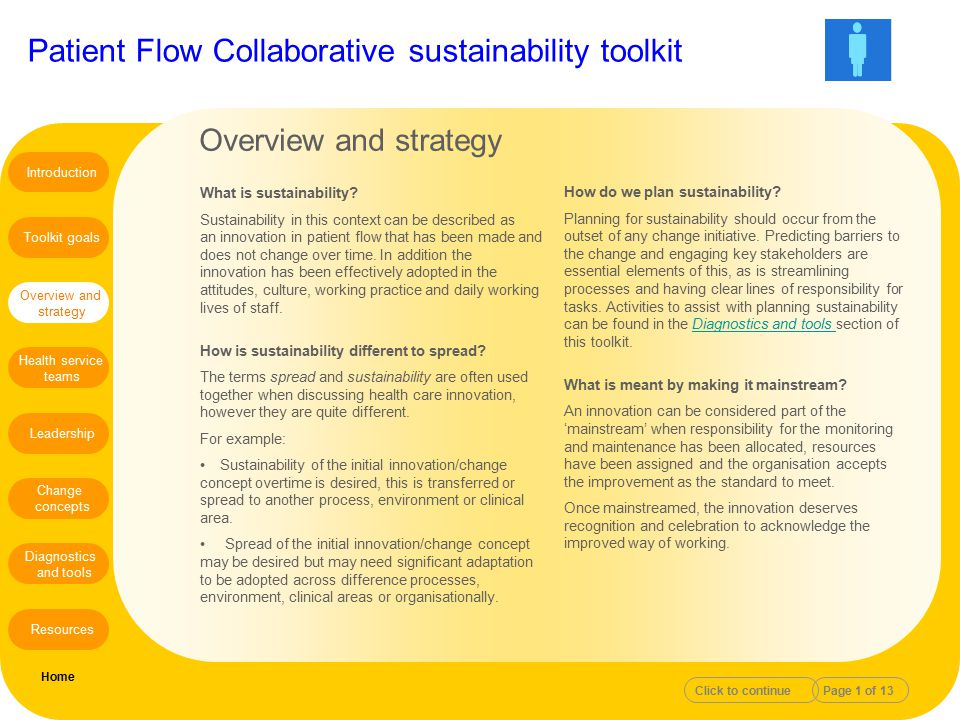 Overview and strategy What is sustainability