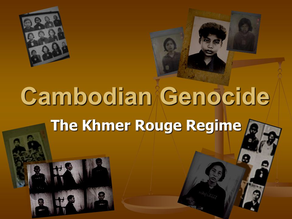 Cambodian Genocide The Khmer Rouge Regime