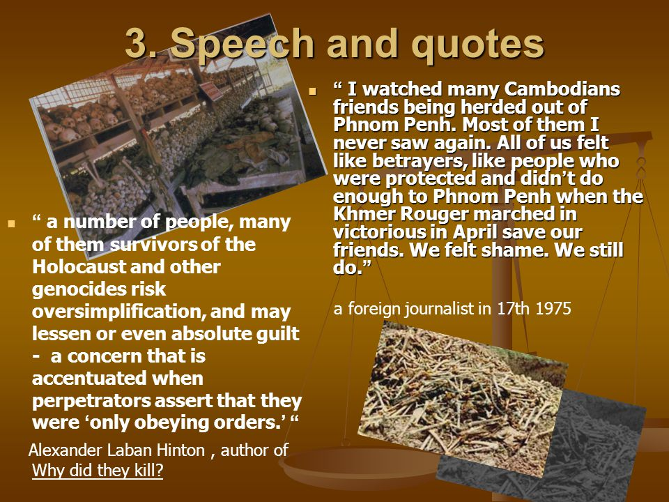 3. Speech and quotes