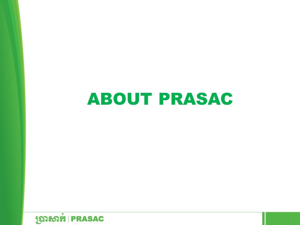 About PRASAC