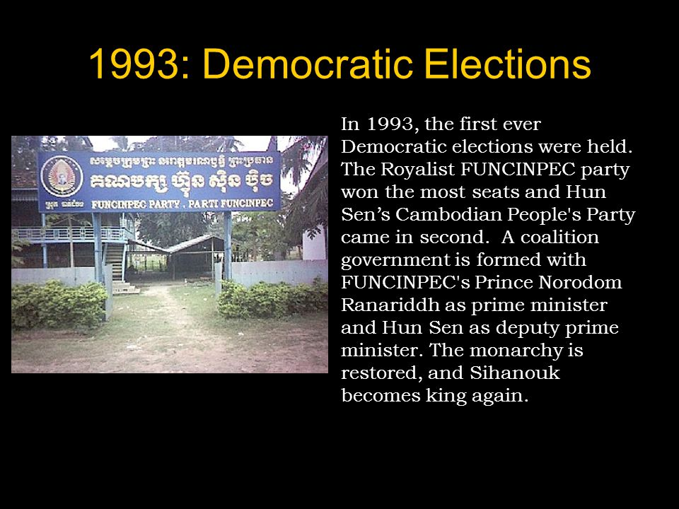 1993: Democratic Elections