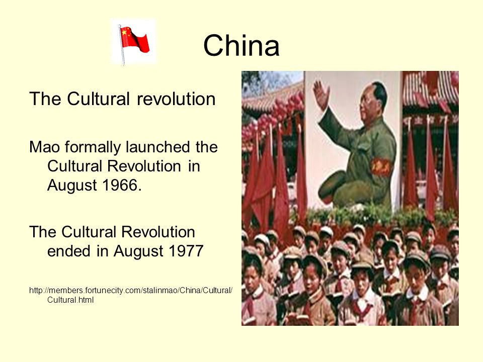 China The Cultural revolution
