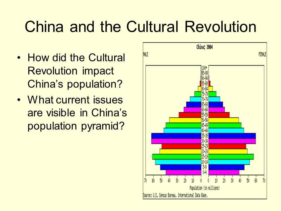 China and the Cultural Revolution