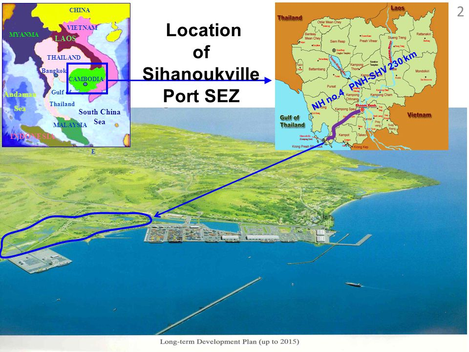 of Sihanoukville Port SEZ