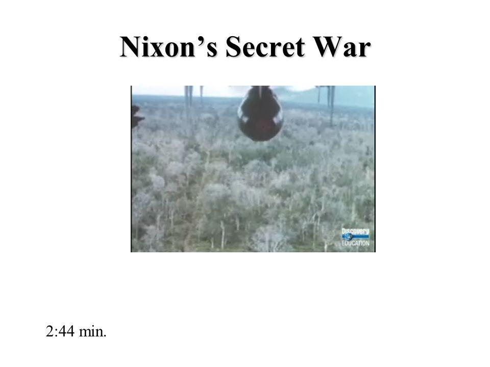 Nixon's Secret War 2:44 min.