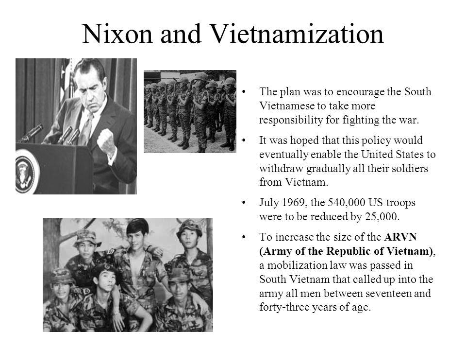 Nixon and Vietnamization
