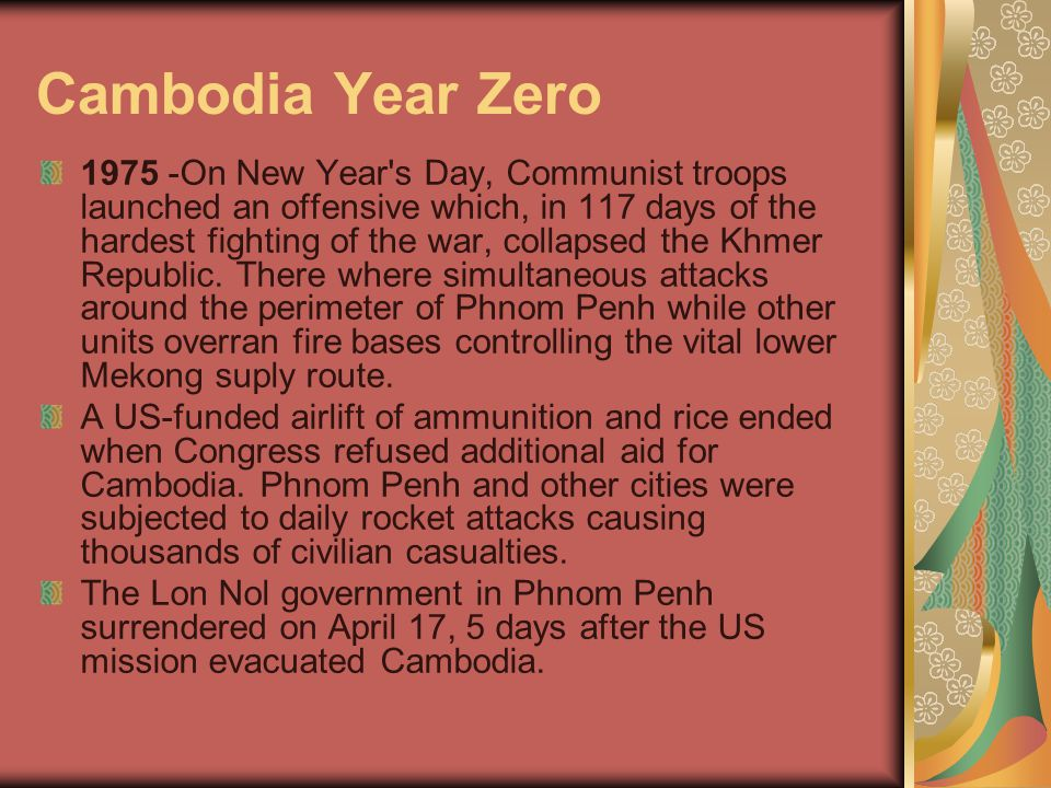 Cambodia Year Zero