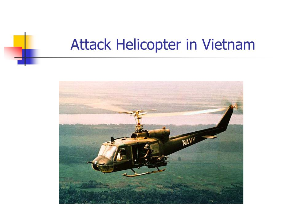 Attack Helicopter in Vietnam