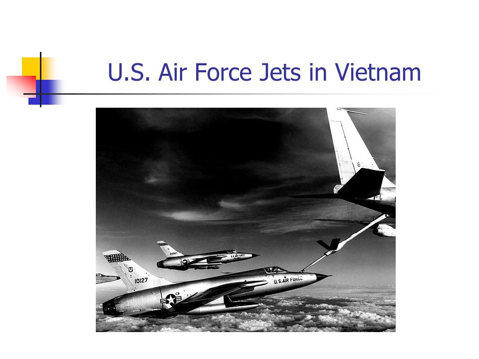 U.S. Air Force Jets in Vietnam