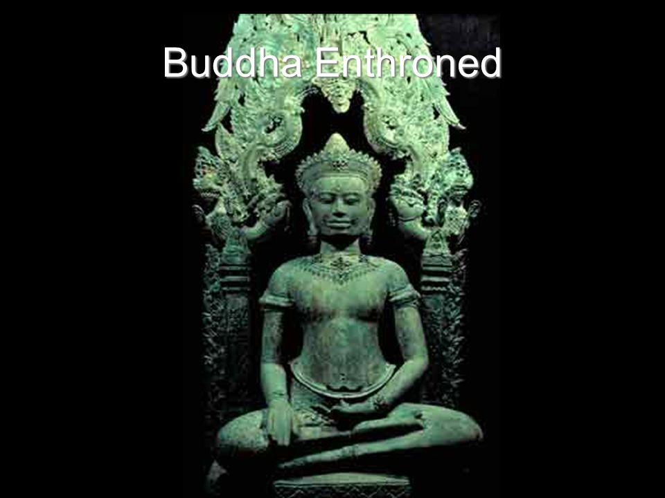 Buddha Enthroned
