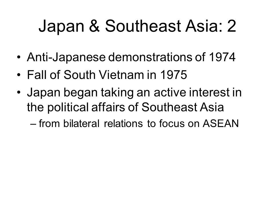 Japan & Southeast Asia: 2