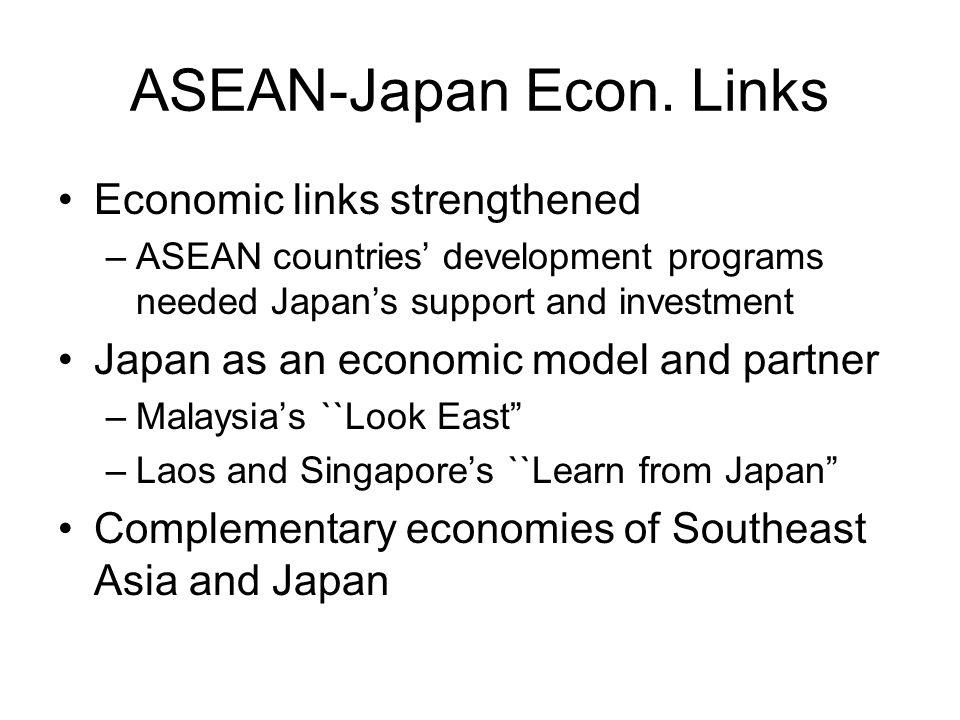 ASEAN-Japan Econ. Links