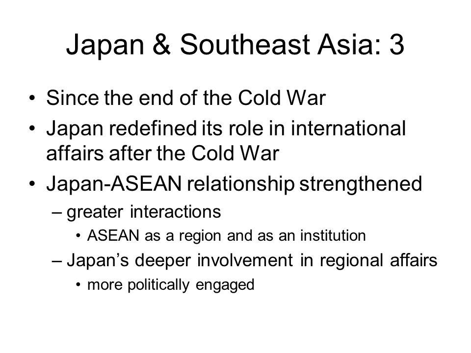 Japan & Southeast Asia: 3