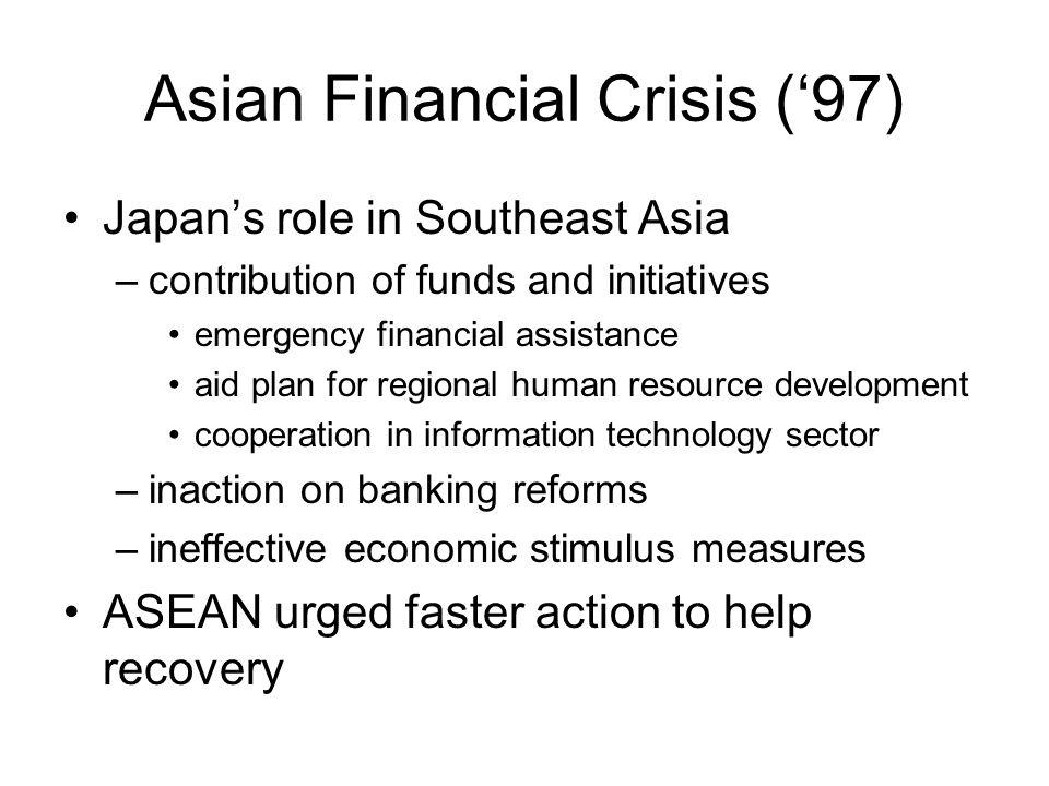 Asian Financial Crisis ('97)
