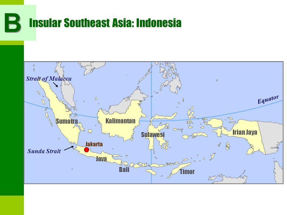 Insular Southeast Asia: Indonesia