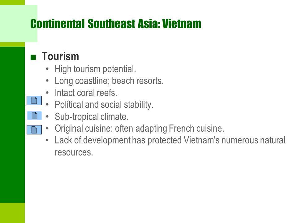 Continental Southeast Asia: Vietnam