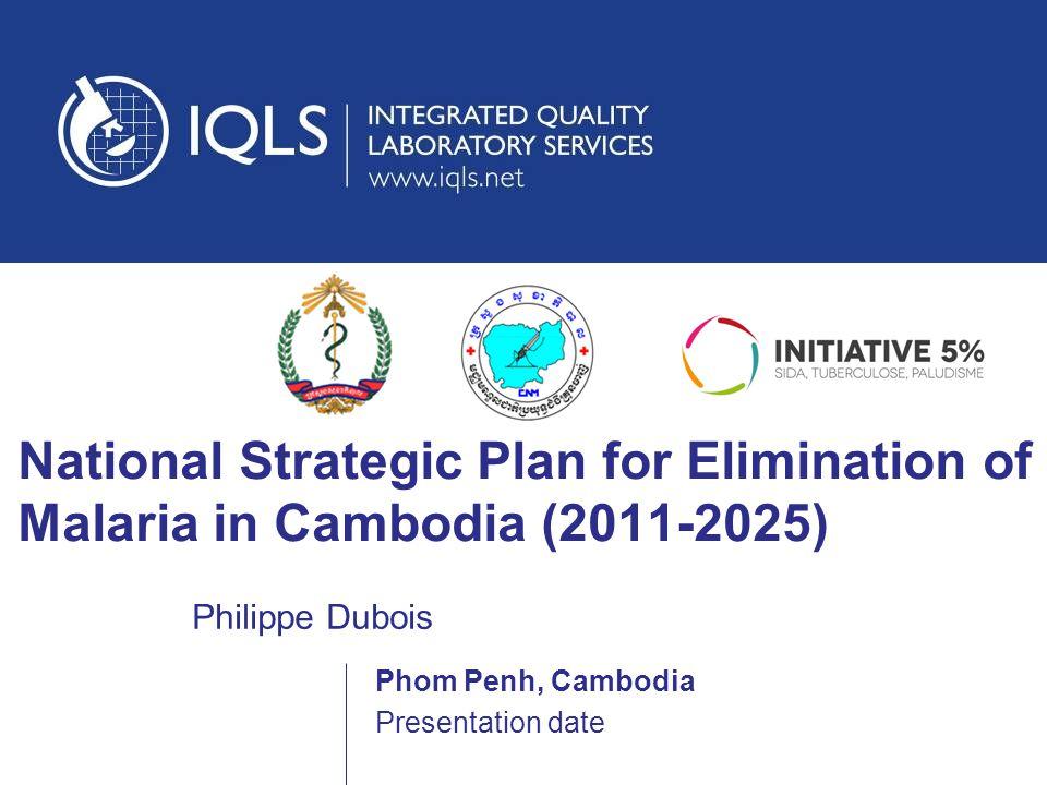 National Strategic Plan for Elimination of Malaria in Cambodia (2011-2025)
