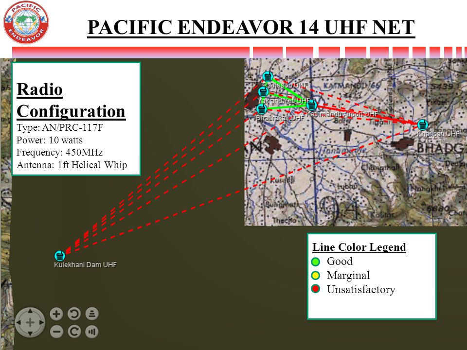 PACIFIC ENDEAVOR 14 UHF NET